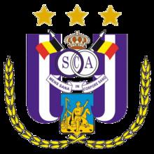Андерлехт - эмблема футбольной команды